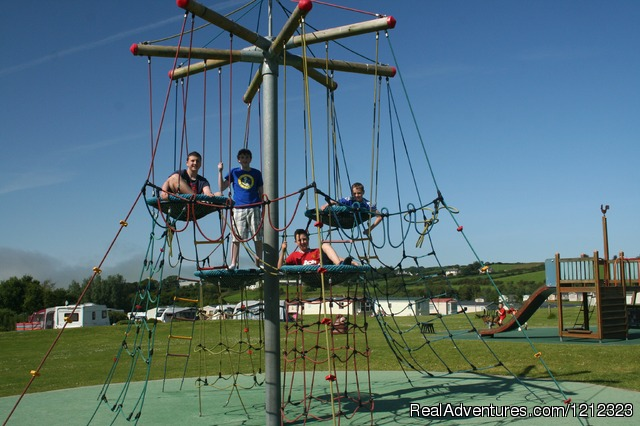 Play park at Ballyness - Ballyness Caravan Park