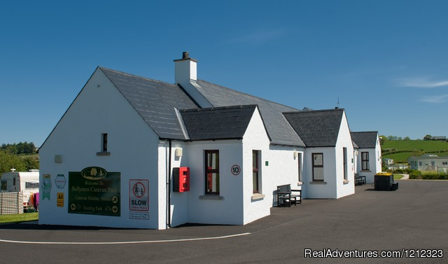 New Refurbished Amenity Building at Ballyness - Ballyness Caravan Park