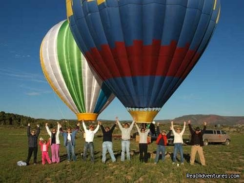 Celebration | Image #6/6 | Hot Air Balloon Flights with Santa Fe Balloons.