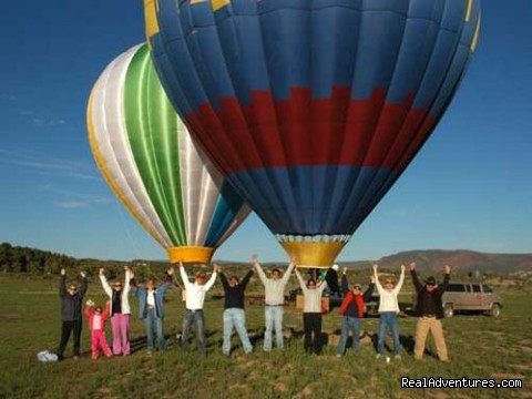 Celebration - Hot Air Balloon Flights with Santa Fe Balloons.
