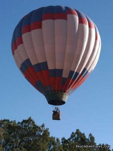 Flying - Hot Air Balloon Flights with Santa Fe Balloons.