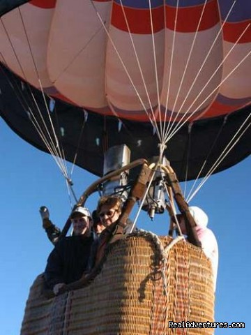 Take Off - Hot Air Balloon Flights with Santa Fe Balloons.