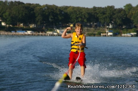 Water Skiing  (#4 of 14) - Fillenwarth Beach