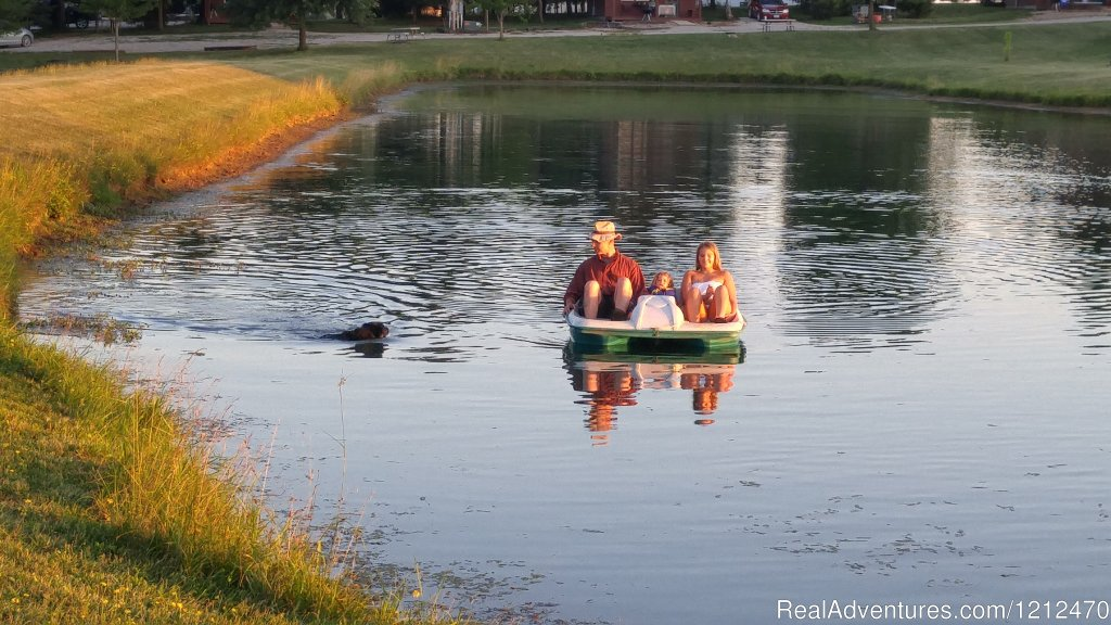 Paddle boat rentals | Image #3/17 | Relax at Pine Ridge Retreat & Lodging