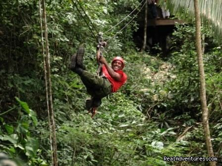 Belize Zipline - Cave Tubing And zip line