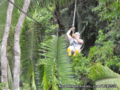 - Cave Tubing And zip line