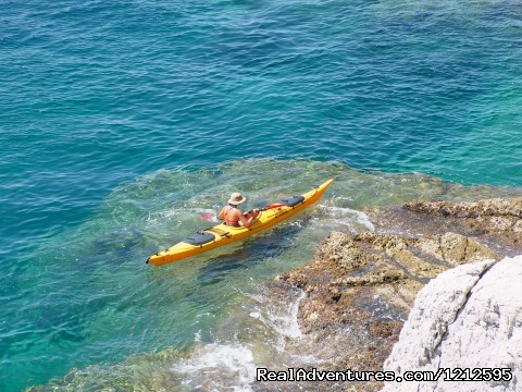 Best of Croatia multisport holiday: Sea kayaking around Kolocep island