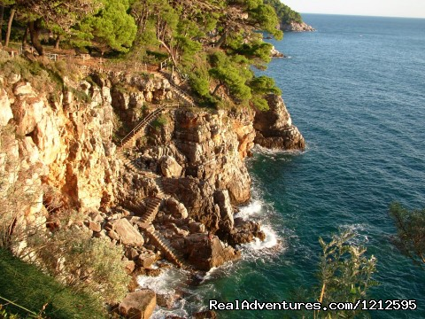 Kolocep island rocks - Best of Croatia multisport holiday