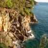 Kolocep island rocks
