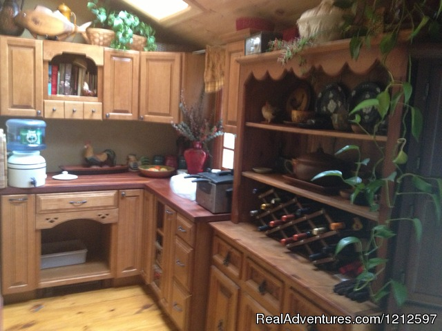 Kitchen Pantry - Sea Bass Cottage - Walking Distance to Ocean