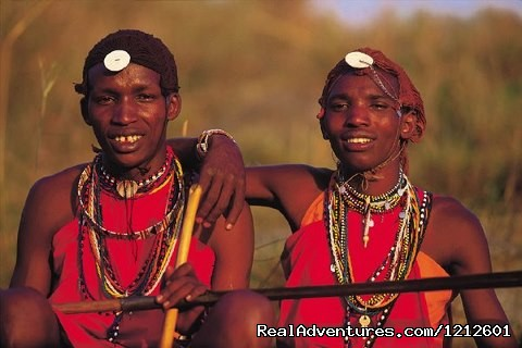 Maasai Warriors in Ngorongoro - 5 Days 4 Nights Luxury Lodge Safari Experience