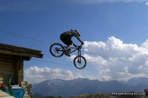 Freeride mountain bike holidays in Italy.