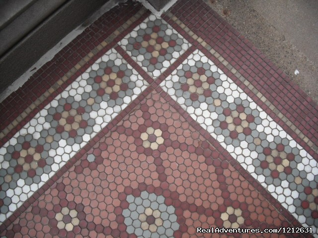 Front porch Italian tile