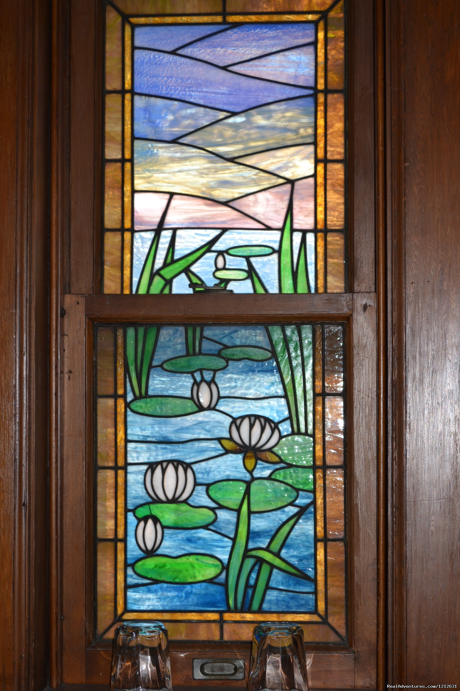 Tiffany Window - Water Lillies