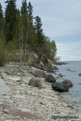 Hecla Shoreline (#2 of 3) - Solmundson Gesta Hus