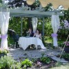 Romantic wedding location at Evergreen Gate B and B