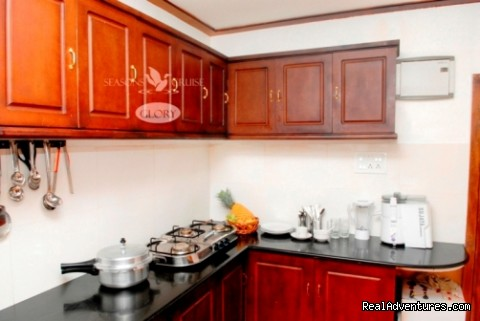 Vivahomestay: Kitchin