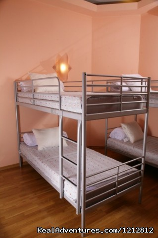 Cheapest Moscow Hostel- Buddy Bear Hostel Moscow: Buddy Bear Hostel, beds