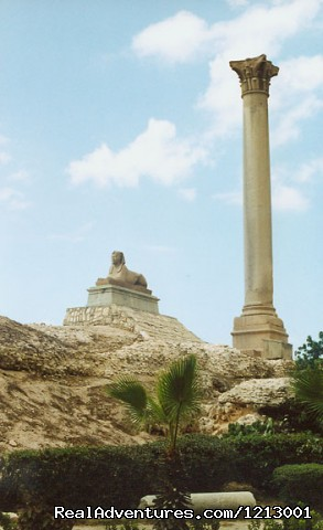pompy's pillar at Alexandria .... (#18 of 20) - Tours in Cairo - Egypt ( perfect trips ) ...
