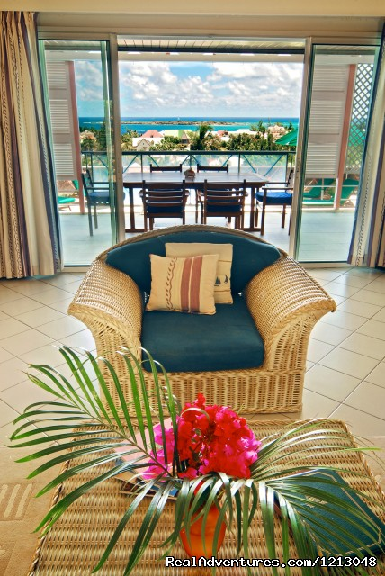 View From The Living Room - Green Cay Villas Luxury villas rental