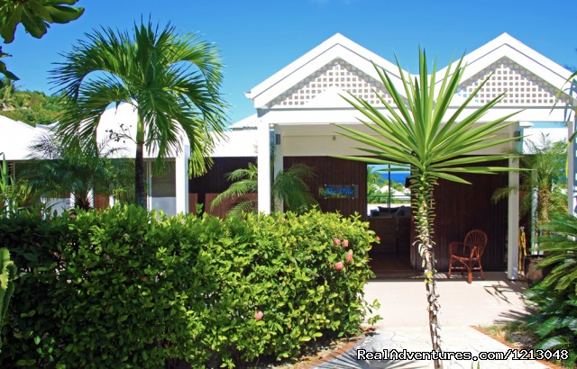 Villa Entrance - Green Cay Villas Luxury villas rental