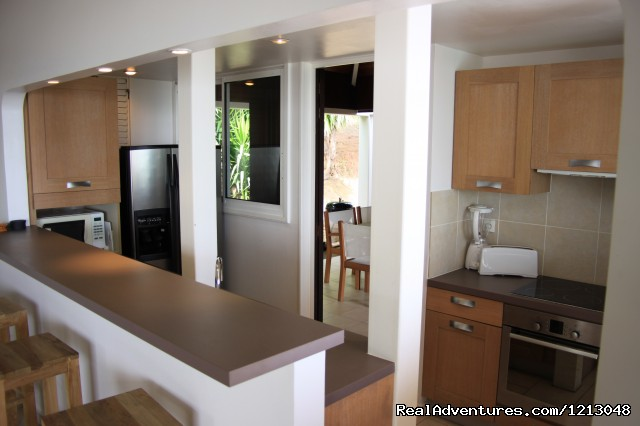 Full Equiped Kitchen - Green Cay Villas Luxury villas rental