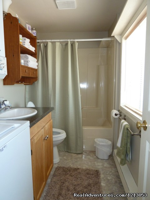 Laundry Facilities Available On Site - Cottage on the Beach