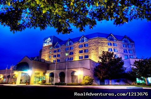 Delta Fredericton Hotel - Delta Fredericton - The only Atlantic Urban Resort