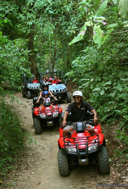 Another beautiful day in the rainforest... | Image #3/9 | ATV Adventure Tours - Jaco - Los Suenos