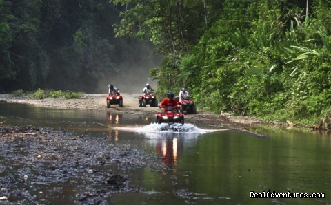 Cool off in the river... - ATV Adventure Tours - Jaco - Los Suenos