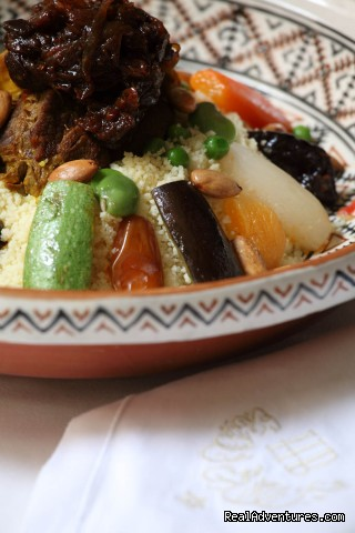The golden tagine