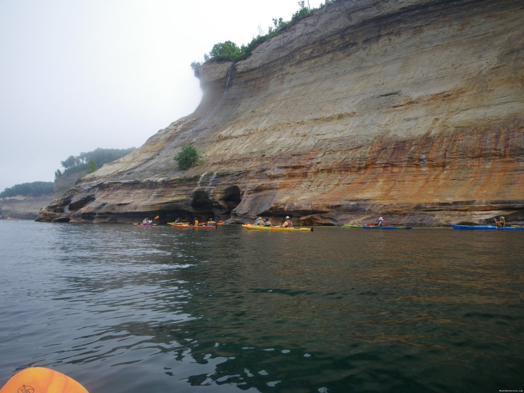 Pictured Rocks National Lakeshore | Image #3/25 | Sea Kayaking the Pictured Rocks National Lakeshore
