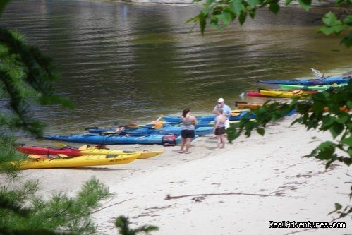 Pictured Rocks National Lakeshore | Image #6/25 | Sea Kayaking the Pictured Rocks National Lakeshore