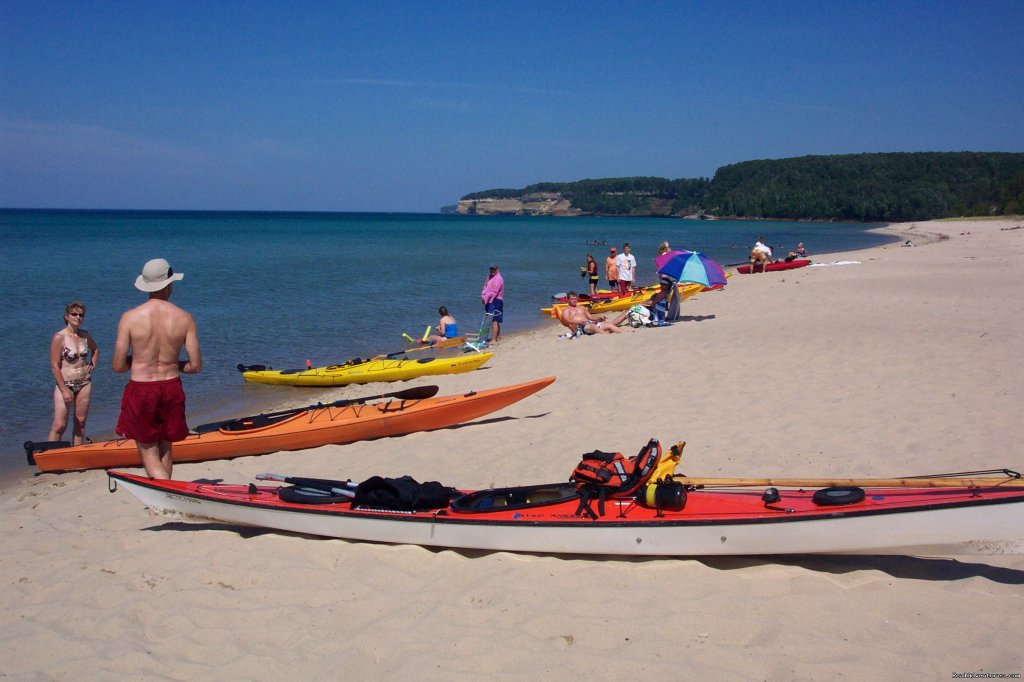 Pictured Rocks National Lakeshore | Image #7/25 | Sea Kayaking the Pictured Rocks National Lakeshore