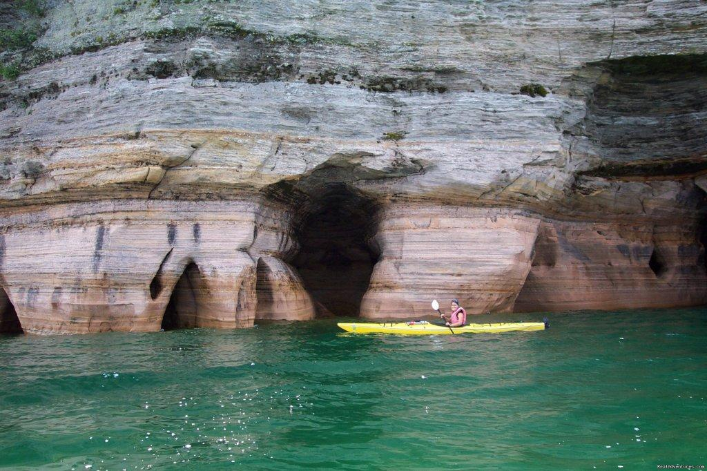 Pictured Rocks National Lakeshore | Image #16/25 | Sea Kayaking the Pictured Rocks National Lakeshore