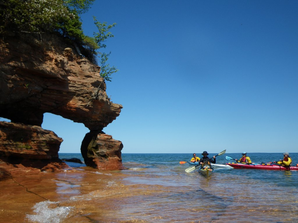 Apostle Islands | Image #18/25 | Sea Kayaking the Pictured Rocks National Lakeshore