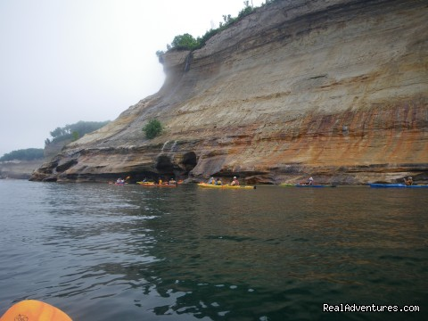 Pictured Rocks National Lakeshore - Sea Kayaking the Pictured Rocks National Lakeshore