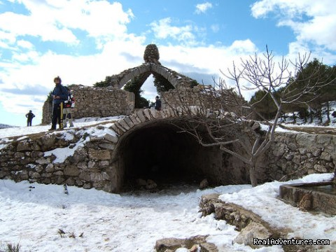 Sierra Mariola ice house (#7 of 15) - Self Guided Walking Trails in Valencia