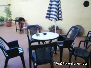 Rear private patio - Self Guided Walking Trails in Valencia