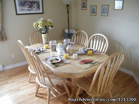 The Breakfast room - Warm english hospitality at Coverdale B&B