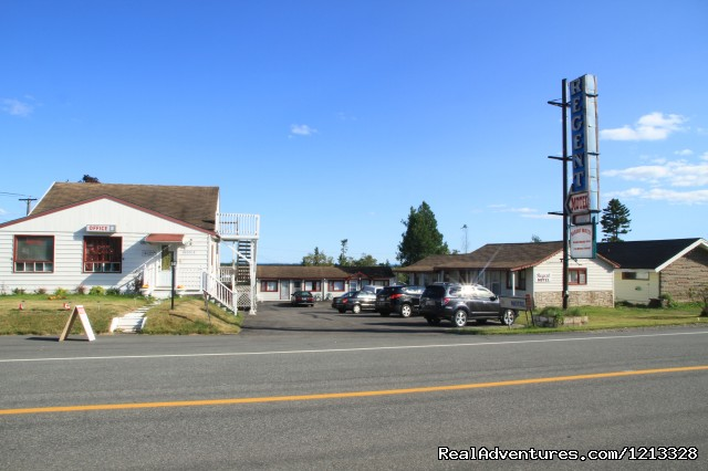 View from Road side (#2 of 9) - Regent Motel