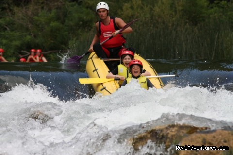 Rafting at Cetina - Adventure Croatia Week - low budget edition