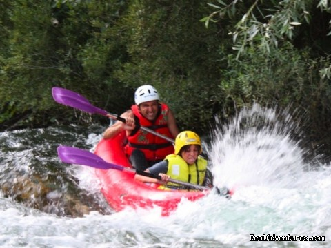 Father and son  - Adventure Croatia Week - low budget edition