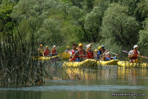 Canoe safari at Cetina - Adventure Croatia Week - low budget edition
