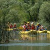 Canoe safari at Cetina