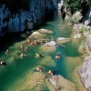 Canyoning at Cetina