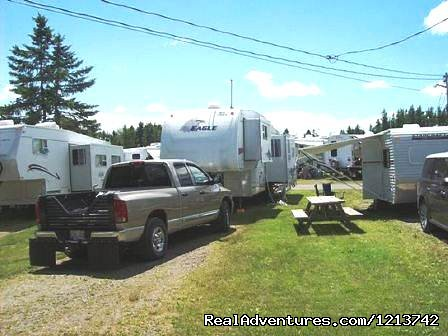 Camper's City/ RV Resort/ Killam Prop. Inc. 30 amp Back-in sites.