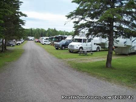 30 amp Pull-thru sites. (#3 of 6) - Camper's City/ RV Resort/ Killam Prop. Inc.