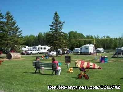 Playground & 50amp Pull-thru sites. (#5 of 6) - Camper's City/ RV Resort/ Killam Prop. Inc.