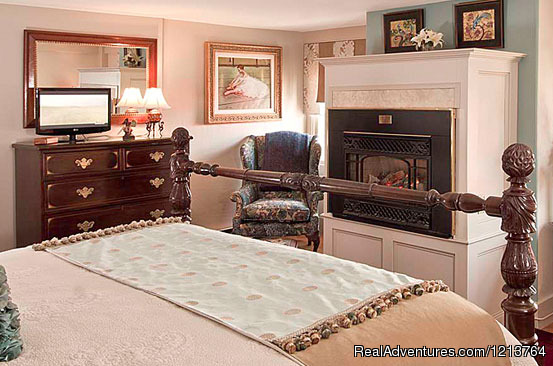 Guest room Union - Captain Lord Mansion, an intimate Maine Coast B&B
